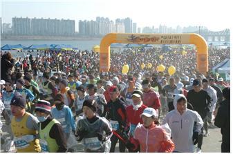 2014년 상반기 한강공원 마라톤대회 신청접수